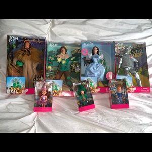 Barbie Wizard of Oz collection, minus Glinda